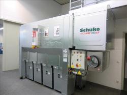 Reinluftabsauganlage SCHUKO Vacomat 250 XP, neue Ausstellungsmaschine